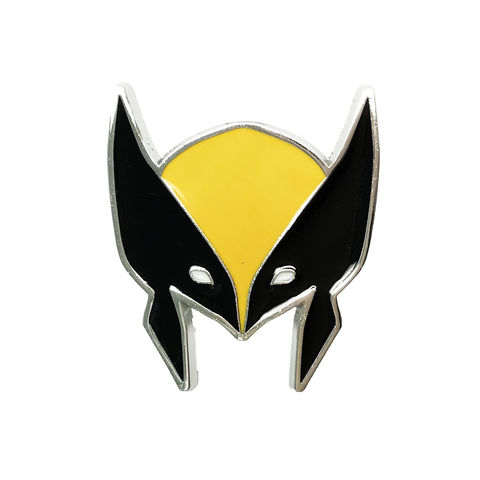 X-Men,Wolverine,Mask,Enamel,Pin,x-men, wolverine, enamel pin, mask, helmet, logan, metal pin, heavy-duty, color