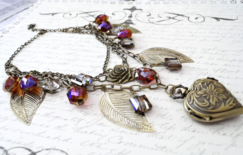 The Andromeda Necklace - Amazonian Steampunk Necklace design. - product image