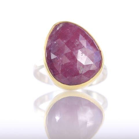 Rose,Cut,Pink,Sapphire,Ring,unique handcrafted jewelry, handcrafted artisan jewelry, unique gemstone jewelry, unique stone jewelry, rose cut jewelry, rose cut sapphire jewelry, rose cut sapphire ring, rose cut pink sapphire ring, rose cut pink sapphire jewelry