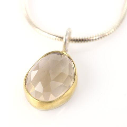Rose,Cut,Champagne,Citrine,Pendant,unique handcrafted jewelry, handcrafted artisan jewelry, unique gemstone jewelry, unique stone jewelry, rose cut jewelry, rose cut citrine, champagne citrine, rose cut pendant, rose cut citrine pendant, handmade citrine pendant, necklace