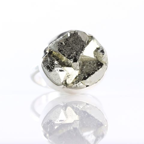 Raw,Pyrite,Ring,Specimen jewelry, pyrite ring, specimen ring, unique handcrafted jewelry, handcrafted artisan jewelry, unique gemstone jewelry, unique stone jewelry, pyrite, raw pyrite, raw pyrite ring, raw crystal ring, handmade raw crystal jewelry, mineral specimen jew