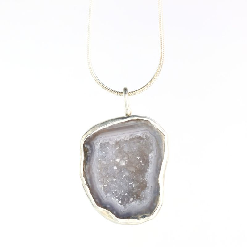 Baby Geode Pendant - product images  of