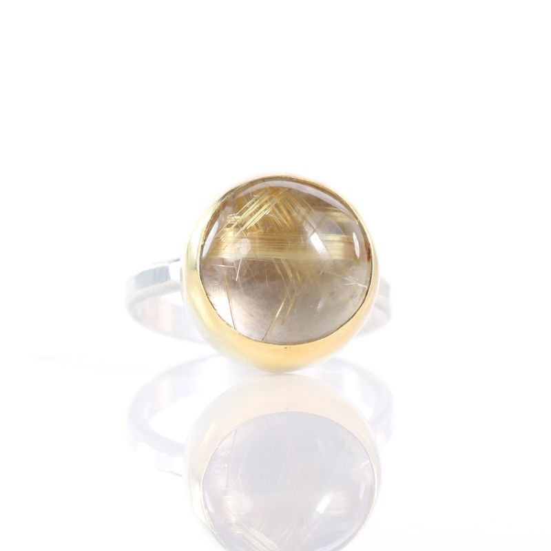Golden Rutile Ring - product images  of