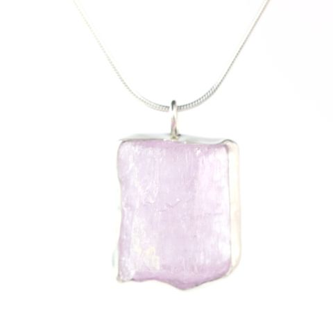 Raw,Pink,Kunzite,Crystal,Pendant,handmade_natural_pink_kunzite_cystal_pendant_jewelry_necklace_raw, natural crystal jewelry, handmade raw crystal jewelry,unique handcrafted jewelry, handcrafted artisan jewelry, unique gemstone jewelry, unique stone jewelry