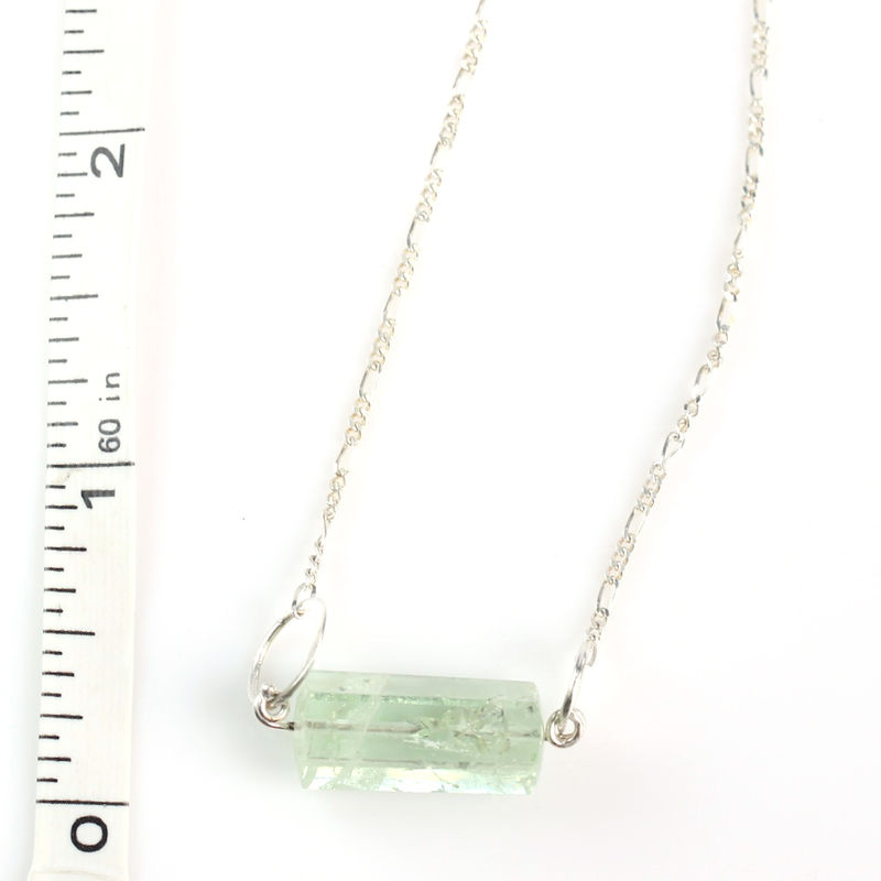 Polished Beryl Crystal Pendant - product images  of