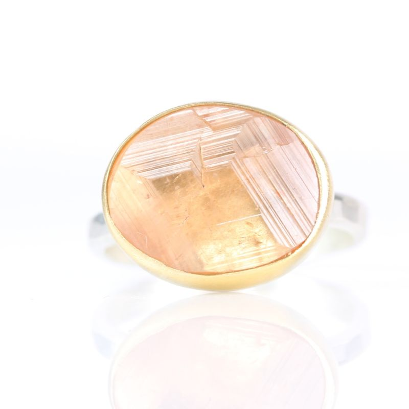 Hessonite Garnet Ring - product images  of