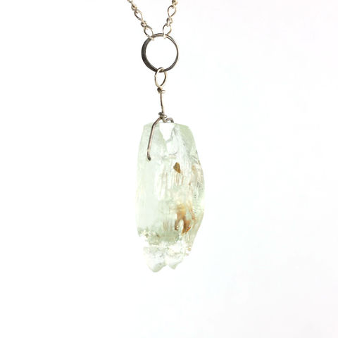 Raw,Aquamarine,Beryl,Crystal,Pendant,with,Inclusions,raw_rough_aquamarine_beryl_crystal_natural_jewelry_pendant_necklace_handmade_unique_handcrafted_jewelry_ artisan _unique_gemstone _stone_New Orleans_inclusions_iron_oxide
