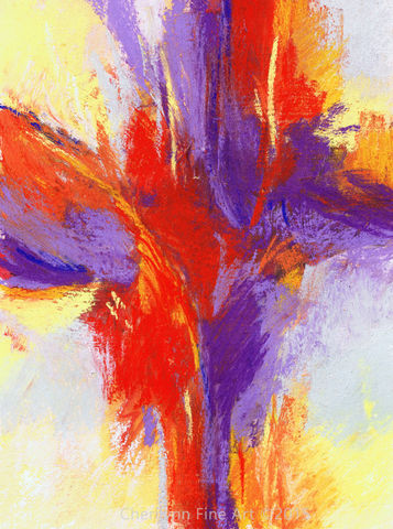 Flames,Anew,Abstract, abstract pastel, pastel art, abstract mixed media, abstract pastel mixed media,  red, orange and purple, warm abstract, abstract painting, essence art, essence series, mixed media, mixed media art,