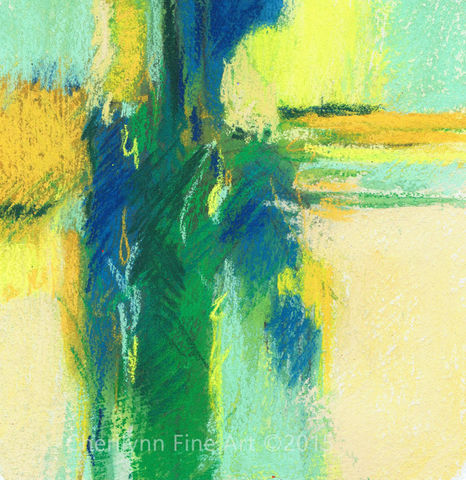 Cool,Reflections,Abstract, abstract pastel, pastel art, abstract mixed media, abstract pastel mixed media,