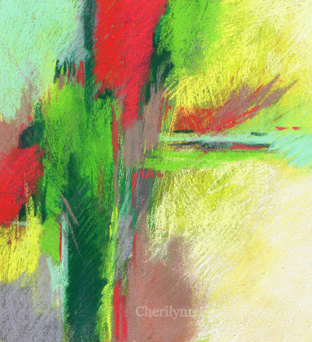 Standing,Tall,Abstract, abstract pastel, pastel art, abstract mixed media, abstract pastel mixed media,