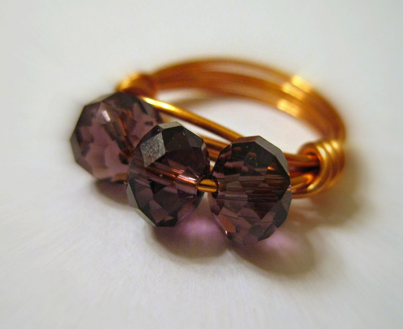 How To Make Rings With Crystals