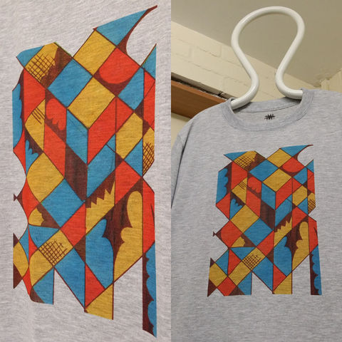 ONE,OFF,CUBIST,T,SHIRT
