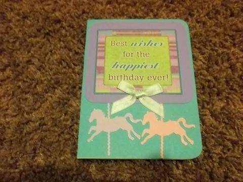 Horse,theme,Birthday,card,greeting card, horse, birthday