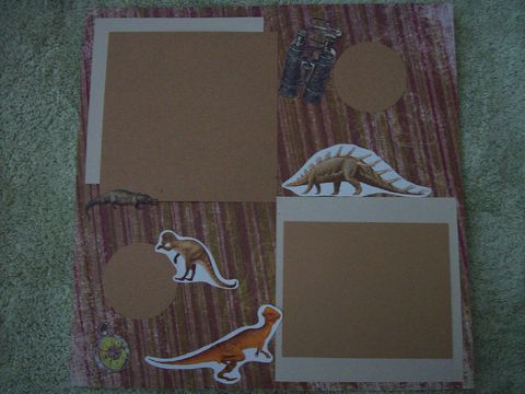 Dinosaurs,roam,scrapbook,page,dinosaur, scrapbook, child