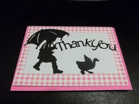 Thank,you,April,showers,greeting,card,April showers, rain, greeting card
