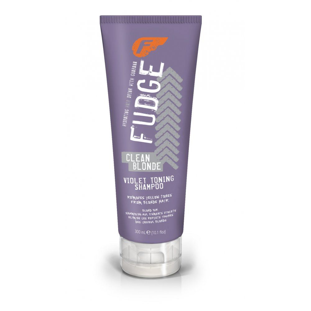 Fudge Clean Blonde Violet Toning Shampoo Gravity Hair