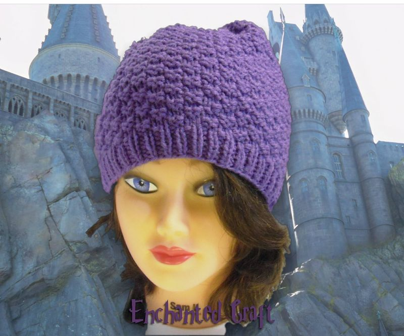Hermione's hat carefully recreated from Harry Potter and the Deathly Hallows- with smoothly finished top - product images  of