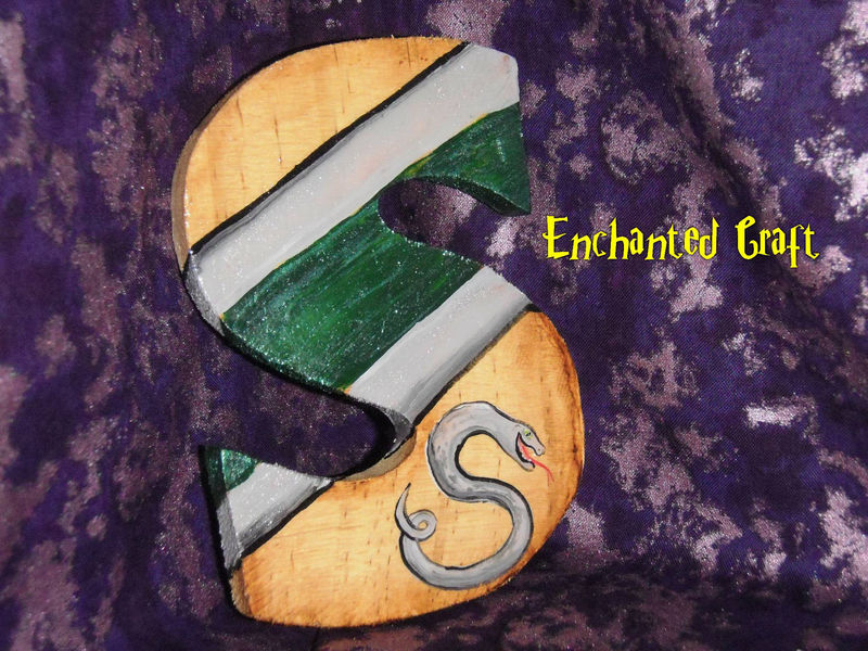 Harry Potter SLYTHERIN House Letter 'S'- Show Your PRIDE- personalize this for free - product images  of