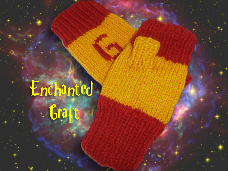Gryffindor Fingerless Gloves for the Harry Potter fan - product images  of
