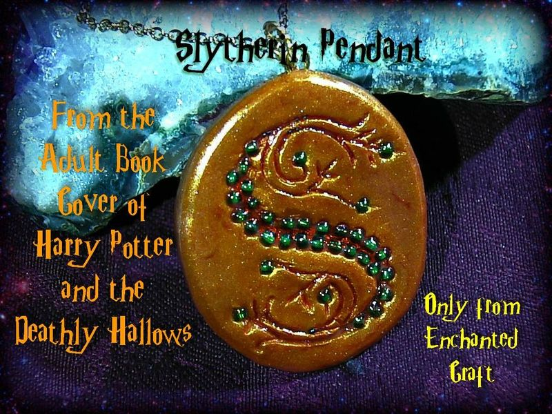 recreated from the book cover Salazar Slytherin's Pendant Horocrux  - product images  of