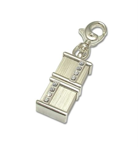 LUXDRIVE,P19,|,USB,Keychain,With,Swarovski,Crystal,USB Drive, Keychain With Swarovski Crystal, UNIQUE Jewellery