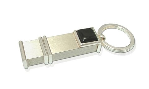 Luxdrive,P6,|,USB,Keychain,With,Onyx,USB Drive, Keychain With Onyx, ONYX Jewellery