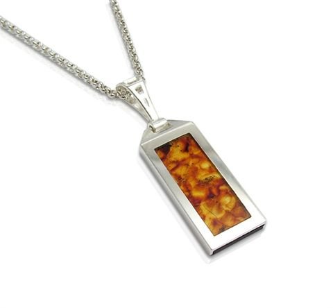 Luxdrive,P9,|,USB,Pendant,With,Amber,USB Drive, Pendant With Amber, HANDMADE Jewellery