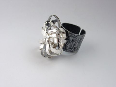 IM,VII,|,Sterling,Silver,Ring,Sterling Silver Ring, Artisan Jewellery