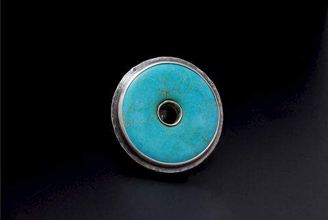 Athena,|,SILVER,Ring,With,Turquoise,SILVER Ring With Turquoise, SILVER Jewellery