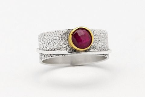 Solo,VI,|,SILVER,Ring,With,Ruby,SILVER Ring With Ruby, silver handmade jewelry