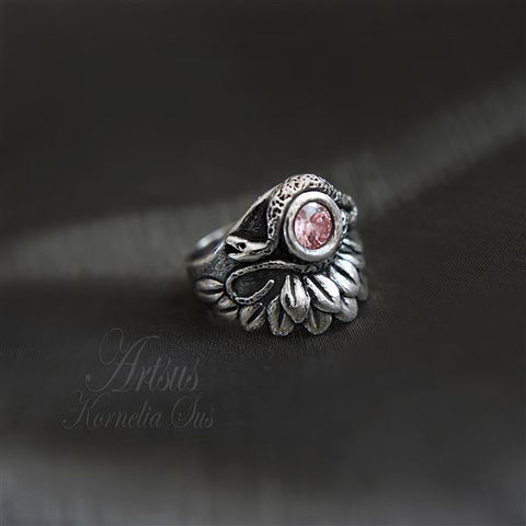 Fairytale,Spell,|,SILVER,RING,With,CUBIC,ZIRCONIA,Silver Ring With Cubic Zirconia, UNIQUE Jewellery