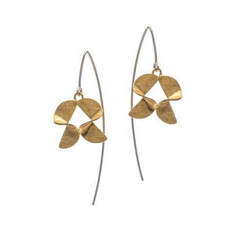 Frolic,|,GOLD,PLATED,DANGLE,EARRINGS,Gold Plated Dangle Earrings, silver dangle earrings, silver jewellery store