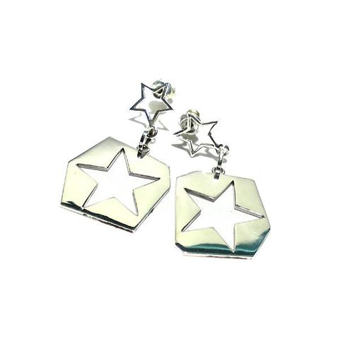 Constellations,|,SILVER,DANGLE,EARRINGS,Silver Dangle Earrings, star earrings, fashion jewellery