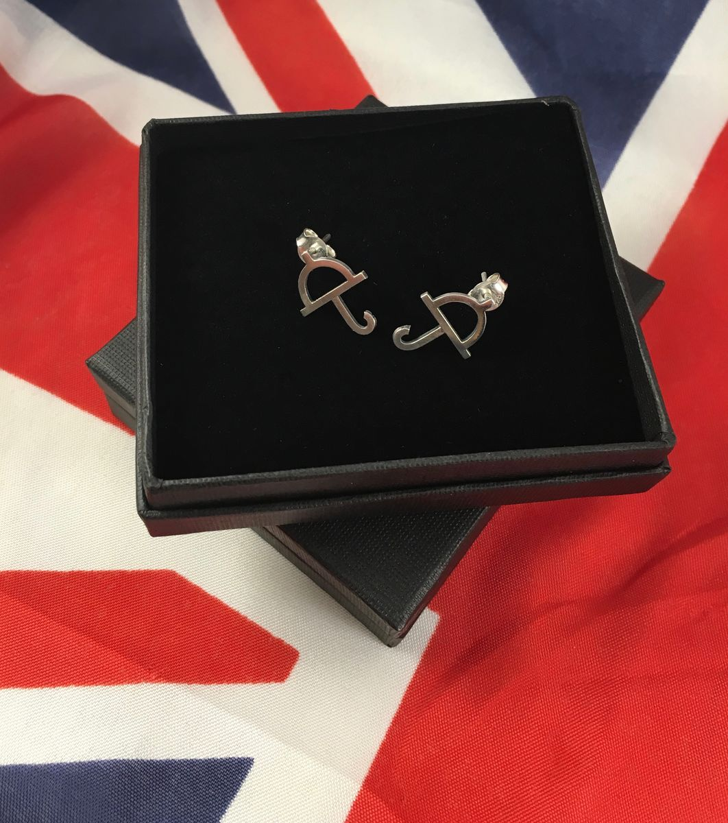English Weather | SILVER STUD EARRINGS - product images  of