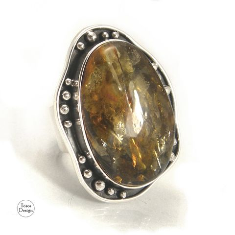 Statement,OVAL,SILVER,AMBER,RING,Oval Amber Ring, statement silver ring, handmade jewellery