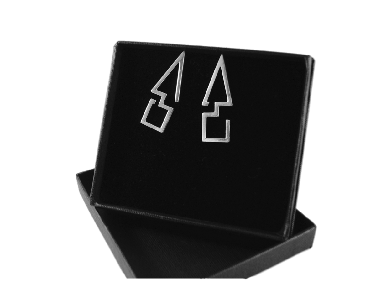 GEOMETRIC | ABSTRACT STUD EARRINGS - product images  of