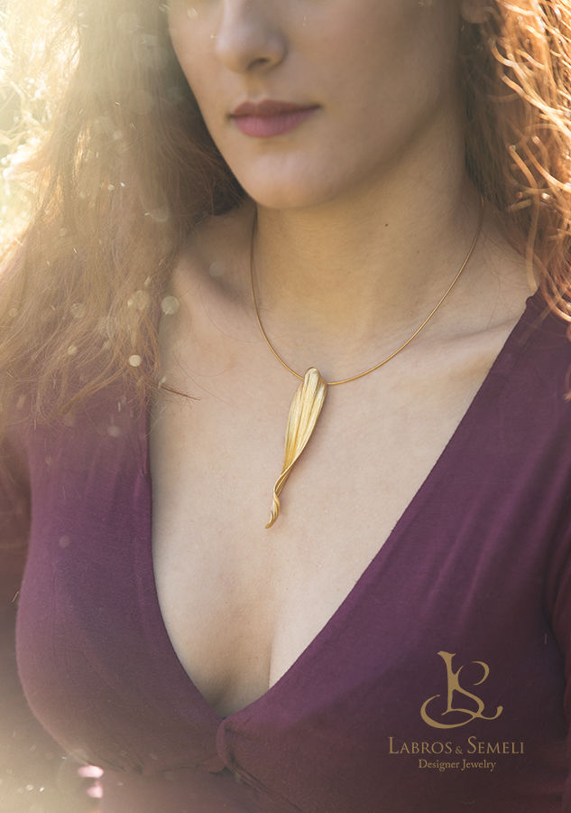 Eden | GOLD PLATED SILVER PENDANT - product images  of