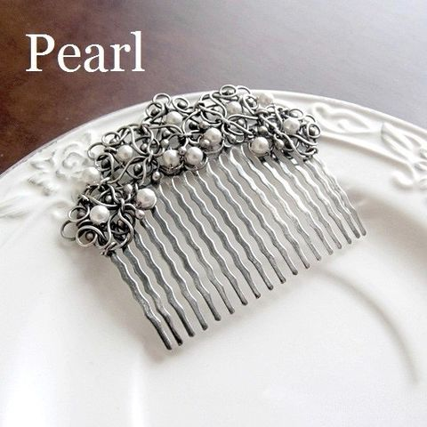 Snowy,Bridal,Hair,Comb,Bridal Hair Comb, silver bridal jewellery, cool jewellery store London