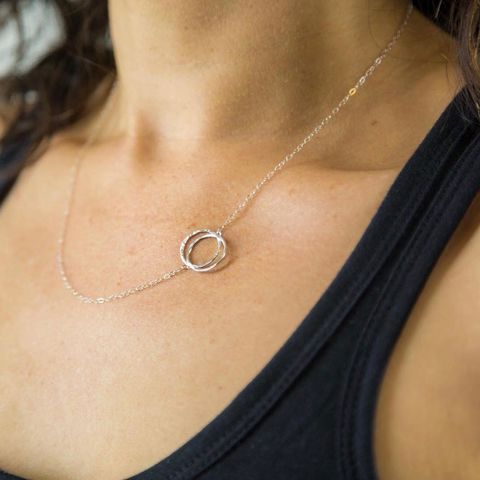 INFINITY,|,SILVER,NECKLACE,Silver Infinity Necklace, silver jewellery store