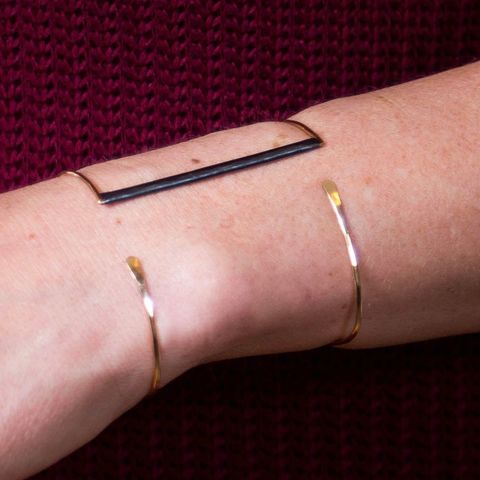 BAR,AND,GOLD,SILVER,CUFF,BRACELET,Silver Bracelet, gold cuff, luxury jewellery store