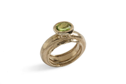 Tower,|,SILVER,OR,BRONZE,RING,With,SemiPRECIOUS,STONES,Silver Semi-precious Stone ring, bronze jewellery, bespoke jewellery store London