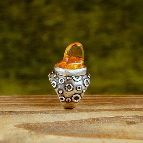 Sweet,AMBER,|,STERLING,SILVER,RING,Amber Sterling Silver Ring, artisan jewellery store London, bohemian ring