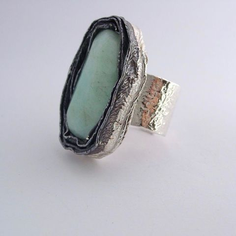 IM,III,|,Sterling,Silver,Ring,With,Aquamarine,Sterling Silver Ring, Aquamarine ring, Silver Jewellery shop