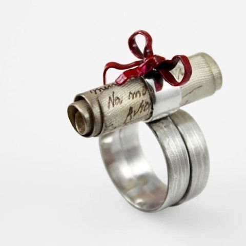 Romantic,|,SILVER,Engraved,&,ENAMELLED,RING,Silver Enamelled Ring, engraved ring, bespoke artisan jewellery
