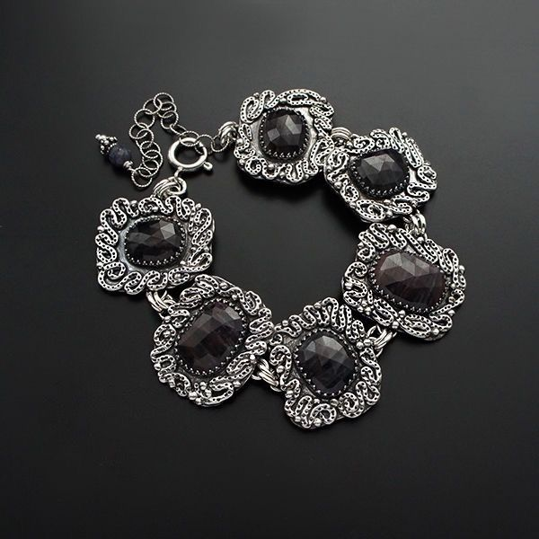Nights & Dreams | SILVER & SAPPHIRE BRACELET - product images  of