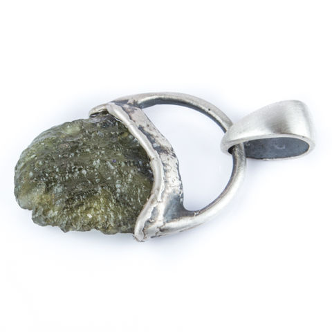 Moldavite,925,Silver,Pendant,Moldavite Silver Pendant, bohemian jewellery store London, gift idea for her