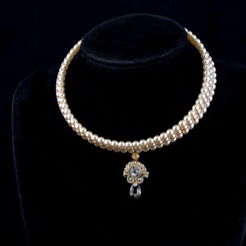 Pearl,Bridal,Choker,Necklace,Pearl Bridal Choker Necklace, soutache bridal choker, bridal jewellery