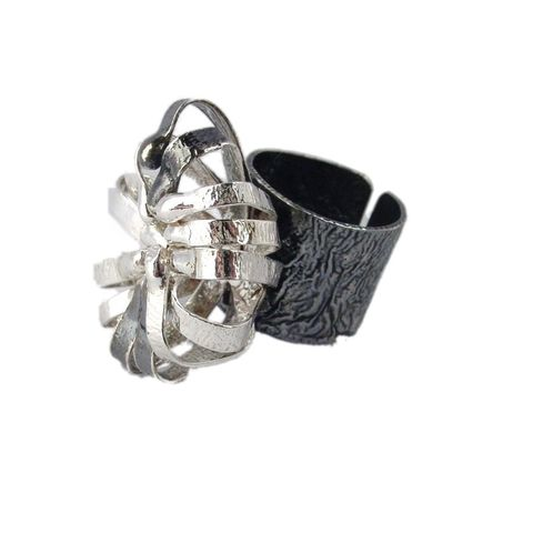 IM,VII,|,Sterling,Silver,Ring,Sterling Silver Ring, Artisan Jewellery shop London