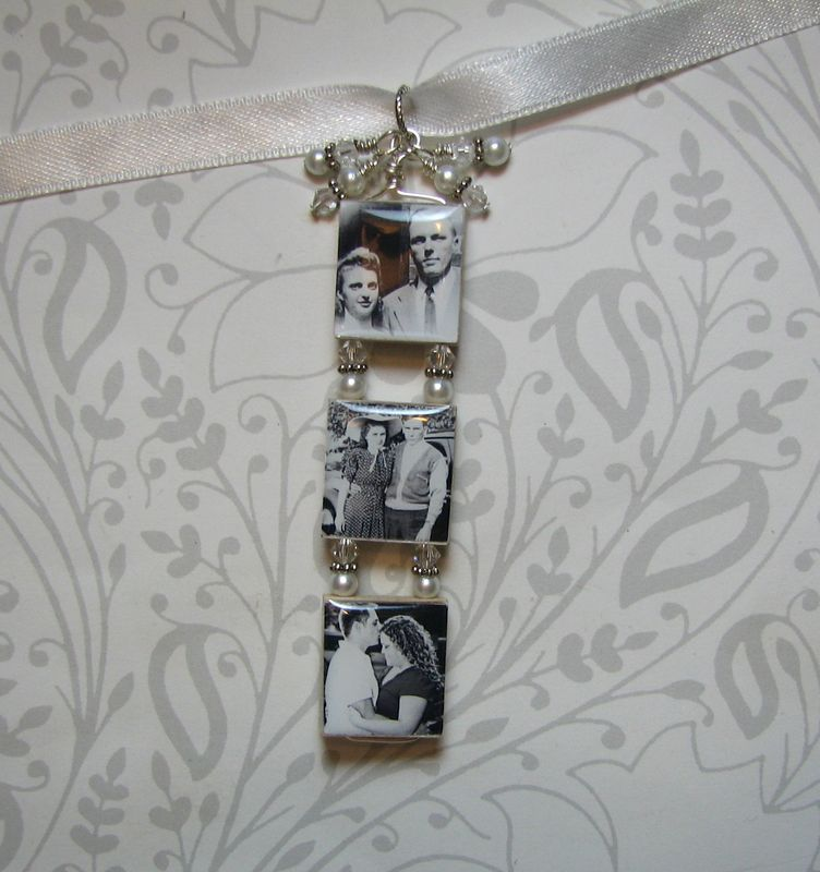 3 Tiered Bouquet Photo Charm - product images  of