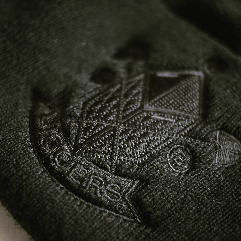 Diggers Woolly Hat Black on Black  - product images  of